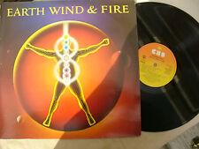 EARTH WIND & FIRE LP POWERLIGHT uk cbs 25120