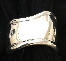 Tiffany & Co-Argento Sterling Osso Polsino-Elsa Peretti-polso destro-Taglia 15