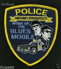 MOUNT PROSPECT, IL Home of the BLUES MOBILE Law Enforcement POLICE Patch