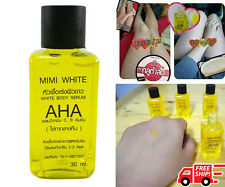AHA VITAMIN C, E SPEED WHITENING SERUM  MIXED LOTION & BRIGHTENING SKIN  30 ml.