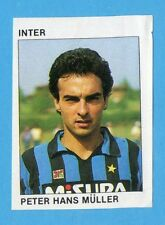 CALCIO FLASH '84 -Figurina n.105- MULLER - INTER -Recuperata
