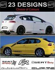 seat ibiza leon toledo cupra altea fr decals stickers 2off choice of design