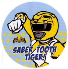 Power Rangers Saber Tooth Tiger Button PB4544