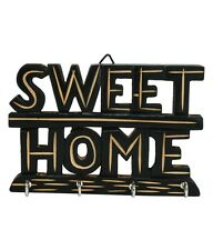 Wooden Sweet Home Wall Key Holder Stand- Home Kitchen Decor,Gift Item