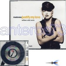 "MADONNA ""JUSTIFY MY LOVE"" ORBIT REMIX RARE CDMAXI"