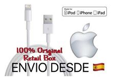 Cable Cargador USB Original iPhone 5 5s/c SE 6 6s 6+ 7 7+ Apple MD818ZM/A