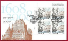 2008 Canada 52c OFDC  # 2269 URpb  JOINT  FRANCE & CANADA    New & Unaddressed