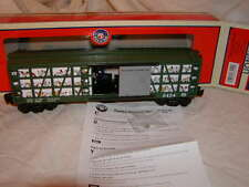 Lionel 6-83251 Poultry Dispatch Sweep Operating Car MIB New 2016 O 027 Sounds