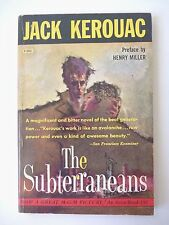 THE SUBTERRANEANS by JACK KEROUAC 1959 FIRST EDITION, VINTAGE PB AVON T-390 VG+