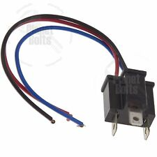 1x H4 HB2 9003 Head Light Lamp Male 3-Pin Plugs Wire Adapters Connectors Harness