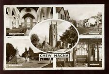 Somerset CHEW MAGNA multiview RP PPC by Tuck mailed from Chew 1954 post mark