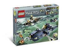 NEW Lego Agents 8636 Mission 7 : Deep Sea Quest New SEALED