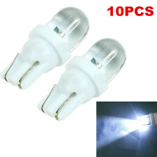 10x 12V T10 White LED 194 168 158 W5W 501 Side Car Auto Wedge Light Lamp Bulb