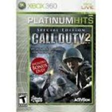 Call of Duty 2 Special Edition Platinum Hits GAME Microsoft Xbox 360 COD COD2
