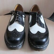 "Dr. MARTENS ""AIR WAIR"" The Original Men's Shoes Size:10 Black & White ENGLAND"