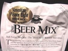 Beer Machine Mix Great Micro Brewery American Pilsner Light 28 Glasses Making