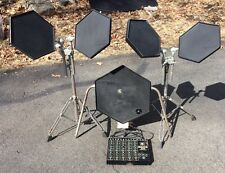 Vintage Simmons SDS8 Pads Stands and Brain Module Cables