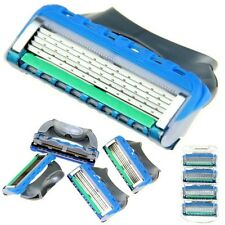 2 Packs of 4 Razor with 5 Layer Blades For Gilette Gillete Fusion Proglide Power