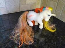 "Vintage My Little Pony ""Bouquet"" Brush N Grow Hong Kong Unicorn 1985 G1 (pt270)"