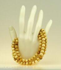 Edle Muschel Perlenkette Tesbih Shell Nepal Schmuck Rosario Halskette Buddha 49g