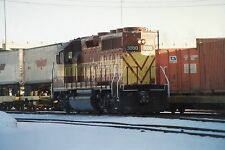 5A620 RP 1991 WISCONSIN CENTRAL RAILROAD ENGINE #3000 GREEN BAY WI