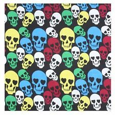 Multi Colour Skull Bandana Bandanna Head Wear Bands Scarf Neck Wrist Wrap