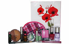 12pc Clinique Sally Hansen & NYC TRUCCO & Pelle Set Inc ROSSETTO MASCARA VERNICE