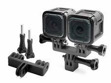 Splitter Mount for GoPro Go Pro 4 Session Accessory Adapter Tripod - USA