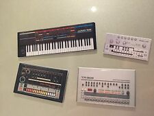 Roland TR-909 TR-808 TB-303 Juno 106 Synth Fridge Magnet Set Retro Wholesale