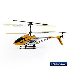 Syma S107 3 Channel Metal Remote Control RC Helicopter Mini Indoor Outdoor Fly