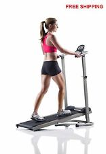 Treadmill Machine Folding Incline Cardio Fitness Exercise Portable Home Manual