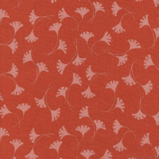 Fabric Papaya Basic C4505-PAPA TT Art Nouveau Revive ginkgo leaf