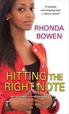 Hitting the Right Note, Rhonda Bowen, Very Good Book