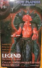 """Legend """"Lord of Darkness"""" on throne 1/4 scale statue"""