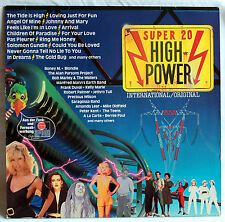 "12"" Vinyl Super 20 HIGH POWER - Robert Palmer, Blondie, Amanda Lear, Jethro Tull"