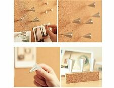 Push Pins Flying Paper Airplane Board Wall Pin Plane Office School Student Cool