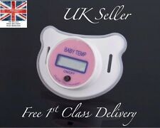 PINK GIRL temperatura Manichino Ciuccio UK LCD Display Medical Health Baby Bambino