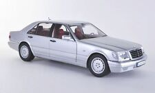 NOREV MERCEDES BENZ S320 DEALER EDITION SILVER 1:18 Back in Stock*Nice Car!