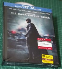 The Dark Knight Rises - Target Exclusive Blu Ray Lenticular Digibook - RARE! NEW