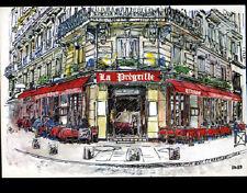 """PARIS V° SAINT-MICHEL / RESTAURANT """"LA PREGRILLE"""" illustré"""