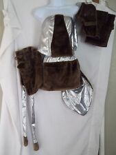Raccoon-SEXY, FURY, Womens's  Plush  7 Piece HALLOWEEN COSTUME SIZE  XS/Small