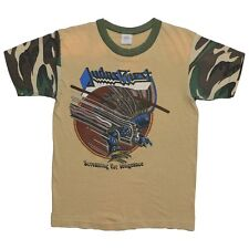 1983 Judas Priest Screaming For Vengeance Camo Tour Shirt