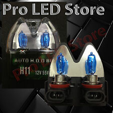 H11 HALOGEN HEADLIGHT LOW BEAM BULB SUPER WHITE 55W