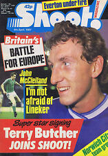 JOHN McCLELLEAND / TERRY BUTCHER / NORWICH CITY Shoot   4 Apr 1987