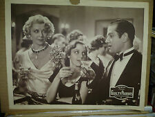GUILTY PARENTS, orig 1934 LC (Jean Lacey is drinking champagne) - Exploitation