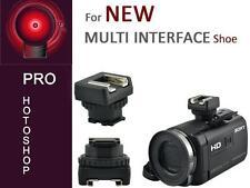 Camcorder Zubehör Adapter für den neuen Sony Multi Interface Shoe