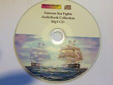 Famous Sea Fights inc Trafalgar - audiobook Mp3 CD