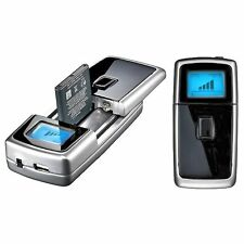 UNIVERSAL BATTERY CHARGER WITH USB CAR OR HOME