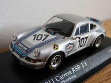 Porsche 911 Carrera RSR 2.8 Targa Florio 1973 Martini Minichamps Modello auto 1: