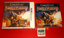 SAMURAI WARRIORS CHRONICLES Nintendo 3Ds Versione Italiana 1ª Ed. ○○ USATO - DT
